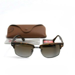 NEW Polarized RAY-BAN Sunglasses RB4190 Clubmaster